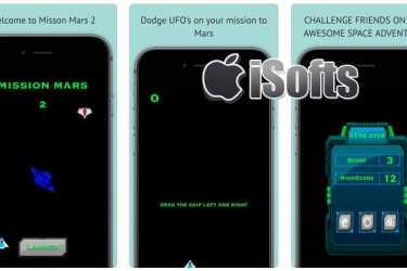 [iPhone] Mission Mars 2(火星任务 2) : 简单耐玩的避开障碍物游戏