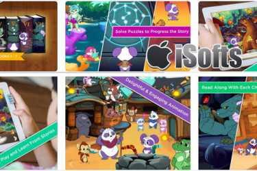 [iPhone/iPad] The Complete Adventures of Pan : 儿童探险互动式电子书软件