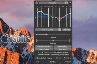 [Mac]音效增强音效均衡器 : eqMac2