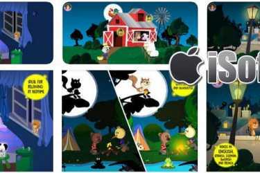 [iPhone/iPad] Comomola Fireflies : 儿童睡前互动式故事软件