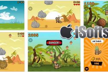 [iPhone/iPad] Noogra Nuts :  铁头小松鼠与坚果游戏