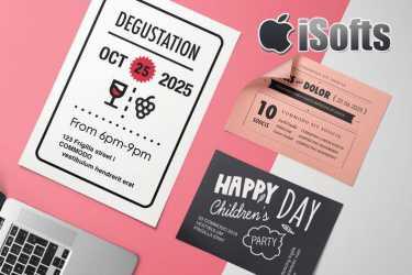 [Mac]邀请函Pages模板套件 :Invitation Templates – DesiGN