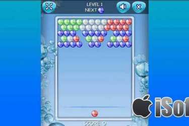 [iPhone/iPad] Bubble Fishing Games : 复古怀旧的泡泡消除游戏