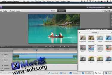 [Mac]视频制作软件 : Adobe Premiere Elements