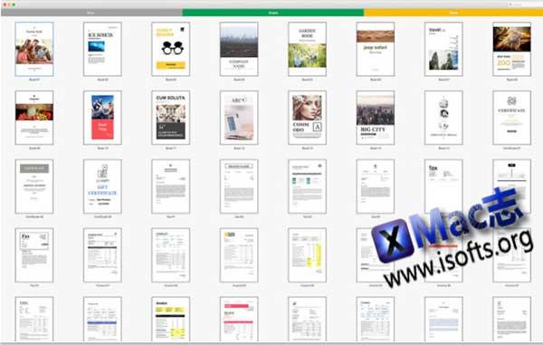 [Mac] Google文档/表格/幻灯片模板套件 : Docs Expert – Templates for Google