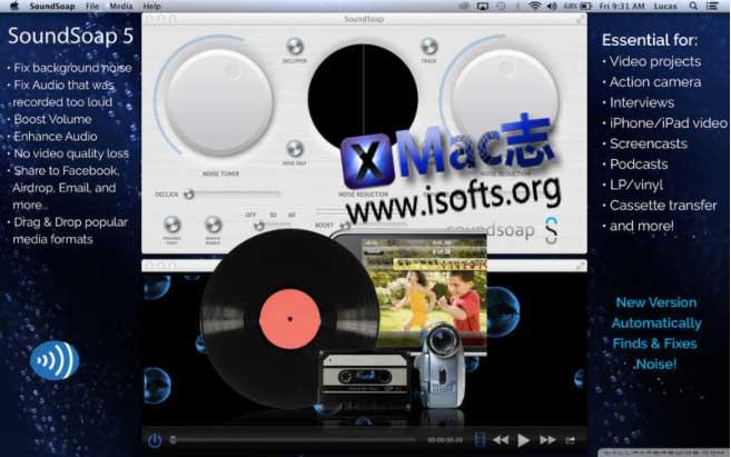 [Mac]音频优化处理软件 : SoundSoap