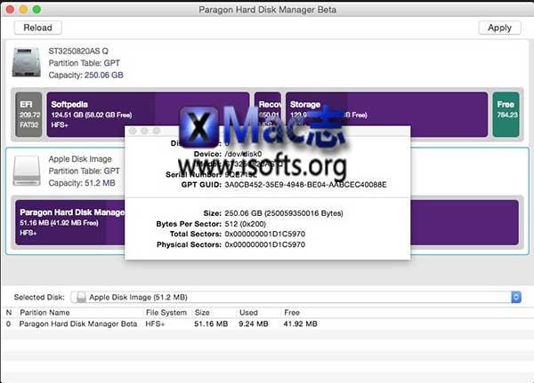 [Mac]磁盘管理工具 : Paragon Hard Disk Manager