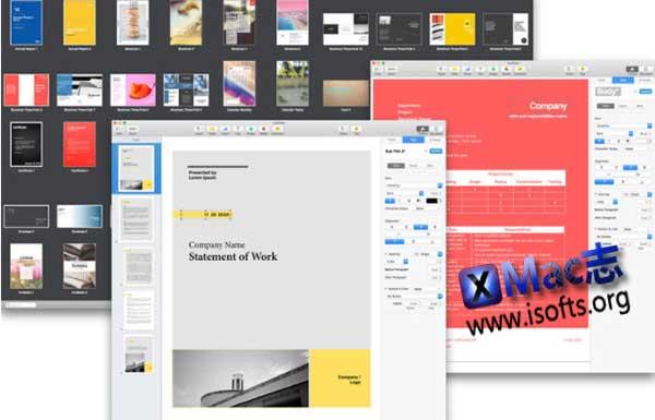 [Mac] Pages商业模板套件 : Sets Design Expert – Templates for Pages