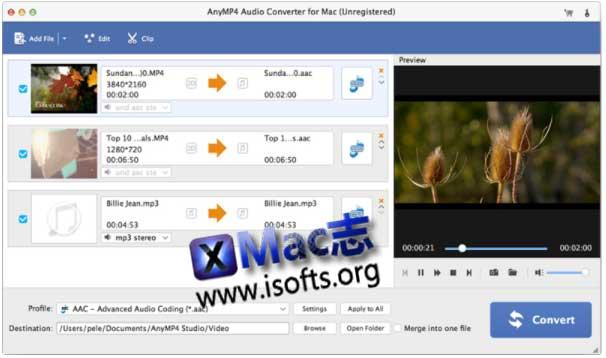 [Mac]音频格式转换工具 : AnyMP4 Audio Converter