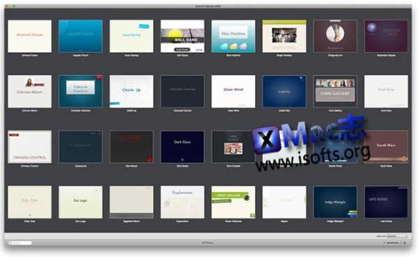 [Mac] Keynote模板套件合集 : Expert Bundle – Templates for Keynote