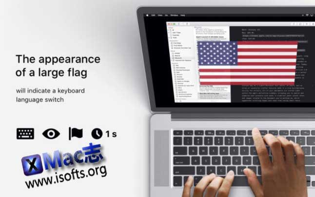 [Mac]切换语言输入法时会在屏幕显示对应的国旗 : FlagSwitcher