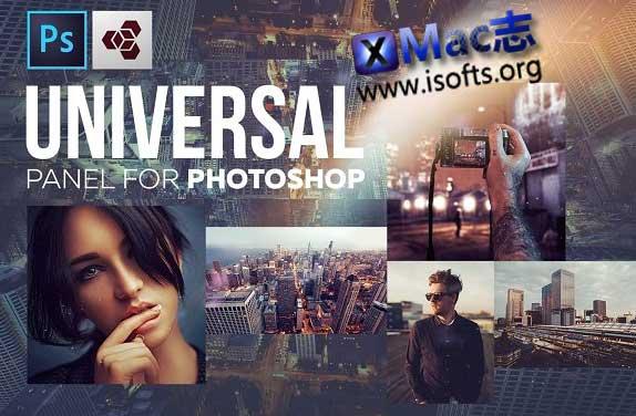 [Mac] PS面板及插件扩展包 : Panels & Plugins Photoshop Collection