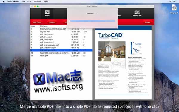 [Mac] PDF分割/合并/压缩/文字及图片提取工具 :Enolsoft PDF Toolset