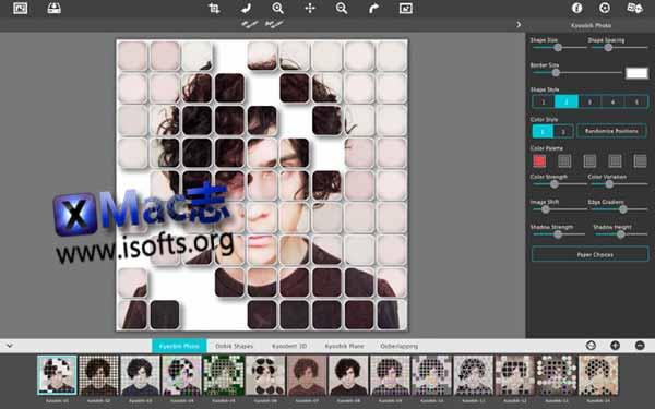 [Mac]网格特效滤镜 : JixiPix Kyoobik Photo
