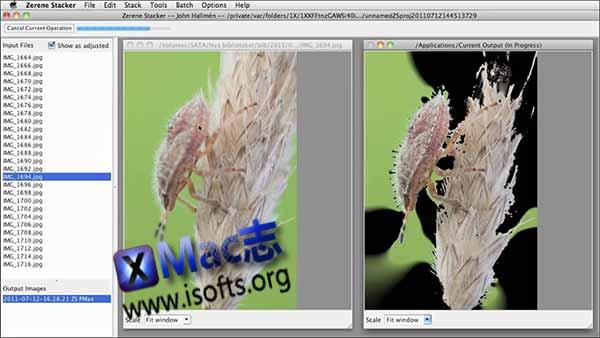 [Mac]数字摄影后期处理软件 : Zerene Stacker Pro