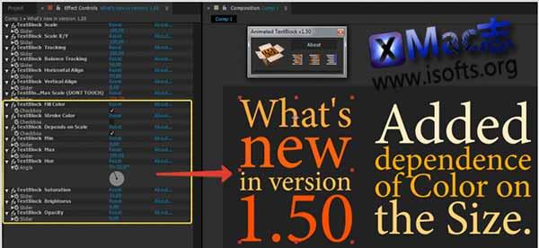 [Mac] AE文字排版布局动画脚本 : Animated Textblock