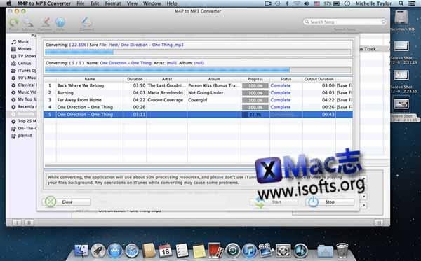 [Mac]移除Apple Music的DRM保护的工具 :M4P to MP3 Converter