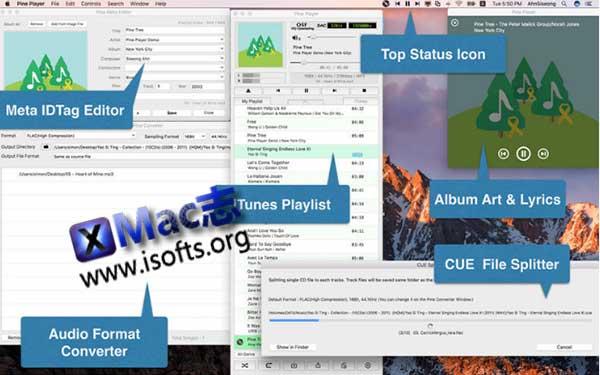 [Mac]万能音乐音频播放器 : Pine Player