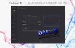 [Mac]全能的macOS系统优化清理工具 : MacCare