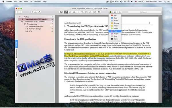 [Mac] PDF文档阅读器 : PDF Reader Air