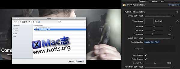 [Mac]音频可视化视觉特效FCPX插件 : Pixel Film Studios FCPX Audio Effector