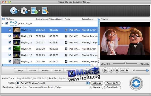 [Mac]蓝光转换器 : Tipard Studio  Blu-ray Converter