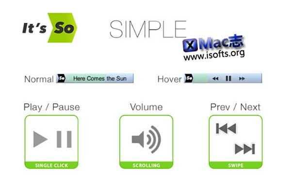 [Mac]微型音乐播放器 : SoHo