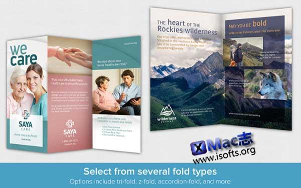 [Mac]小册子设计制作工具 : Brochure Maker