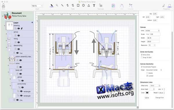 [Mac]矢量图及CAD绘图软件 : DoodleCAD