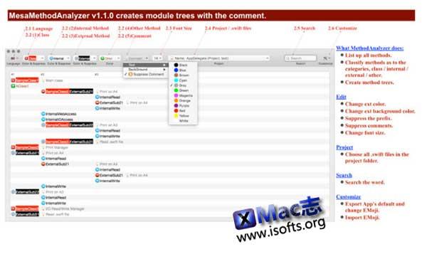 [Mac]代码分析工具 : MesaMethodAnalyzer
