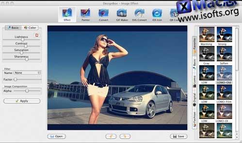 [Mac]图像特效处理工具 :Aurora 3D DesignBox