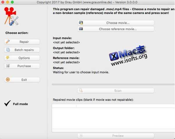 [Mac]高清视频修复软件 : HD Video Repair Utility