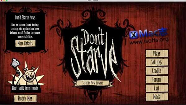 [Mac] Don't Starve(饥荒) : 动作冒险类求生游戏