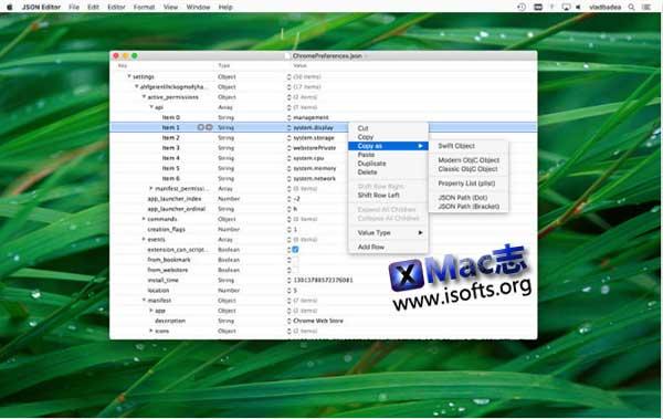 [Mac] JSON编辑器 : JSON Editor