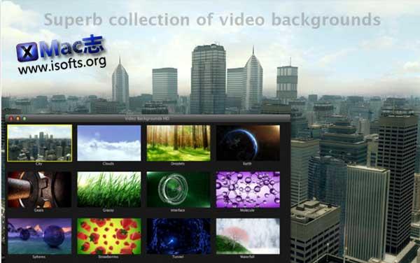 [Mac]高清晰度动画背景素材包 : Video Backgrounds HD
