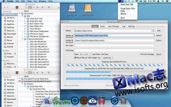 [Mac]文件加密同步工具 : Crypt Sync Files