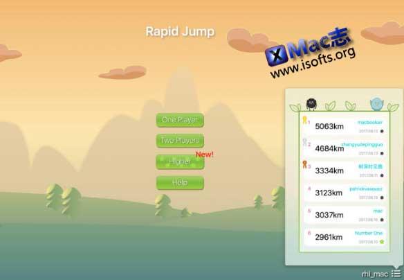 [Mac]休闲益智类游戏 : Rapid Jump