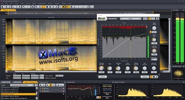 [Mac]高级音频处理软件 : Acon Digital Acoustica Premium Edition