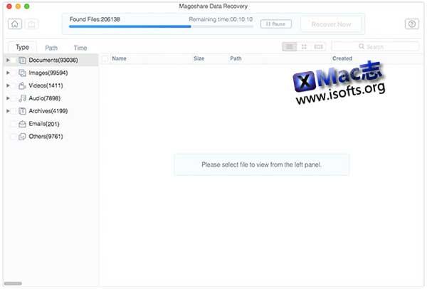 [Mac]数据恢复工具 : Magoshare Data Recovery