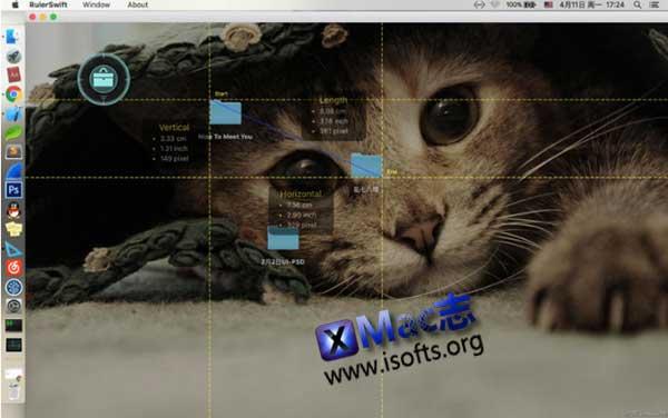 [Mac]屏幕像素测量尺 : RulerSwift