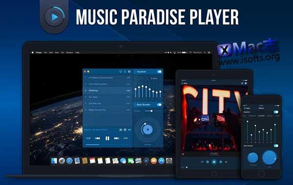 [Mac]方便纯粹的音乐播放器 : Music Paradise Player