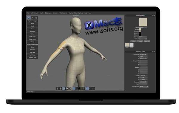 [Mac] 3D造型软件 : Nevercenter Silo Pro
