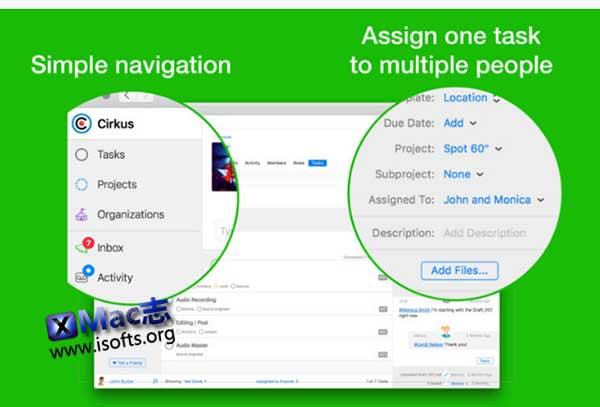 [Mac]任务分配计划管理工具 : Cirkus