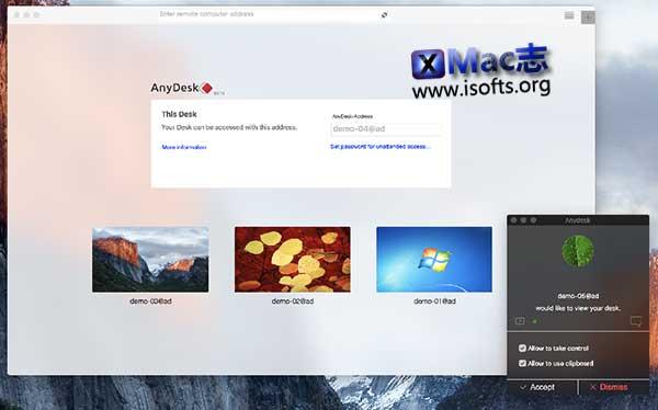 [Mac]远程控制软件 : AnyDesk