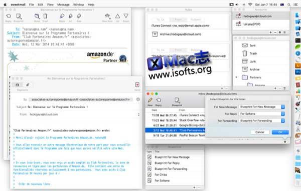 [Mac]邮件客户端 : Sweetmail