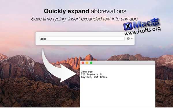 [Mac]增强型扩展文本快速输入工具 :QuickKey