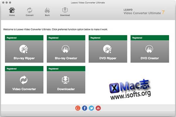 [Mac]全功能视频音频格式转换工具 : Leawo Prof. Media for Mac