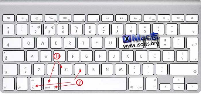 macOS怎么剪切文件