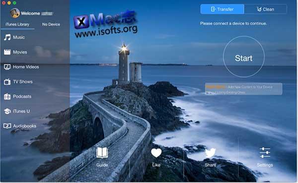 [Mac] iOS设备文件传输管理工具 : SyncBird