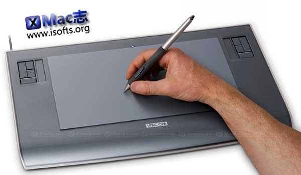 [Mac] Wacom数位板驱动软件 : Wacom Tablet Driver